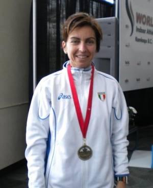 Medaglia d´ORO ai mondiali master di marcia 2010 Kamloops (Canada).
